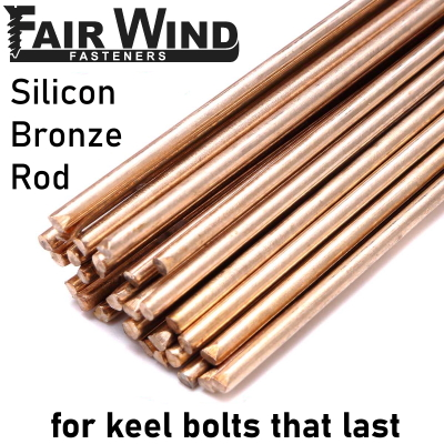 Silicon Bronze Keel Bolt Material - Solid Round Bar
