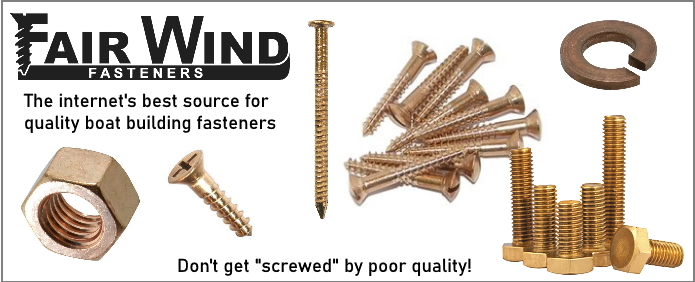 Silicon Bronze Fasteners - Wood Screws, Carriage Bolts, Nails