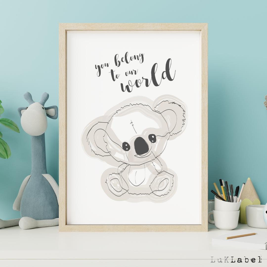Koala A3 juliste
