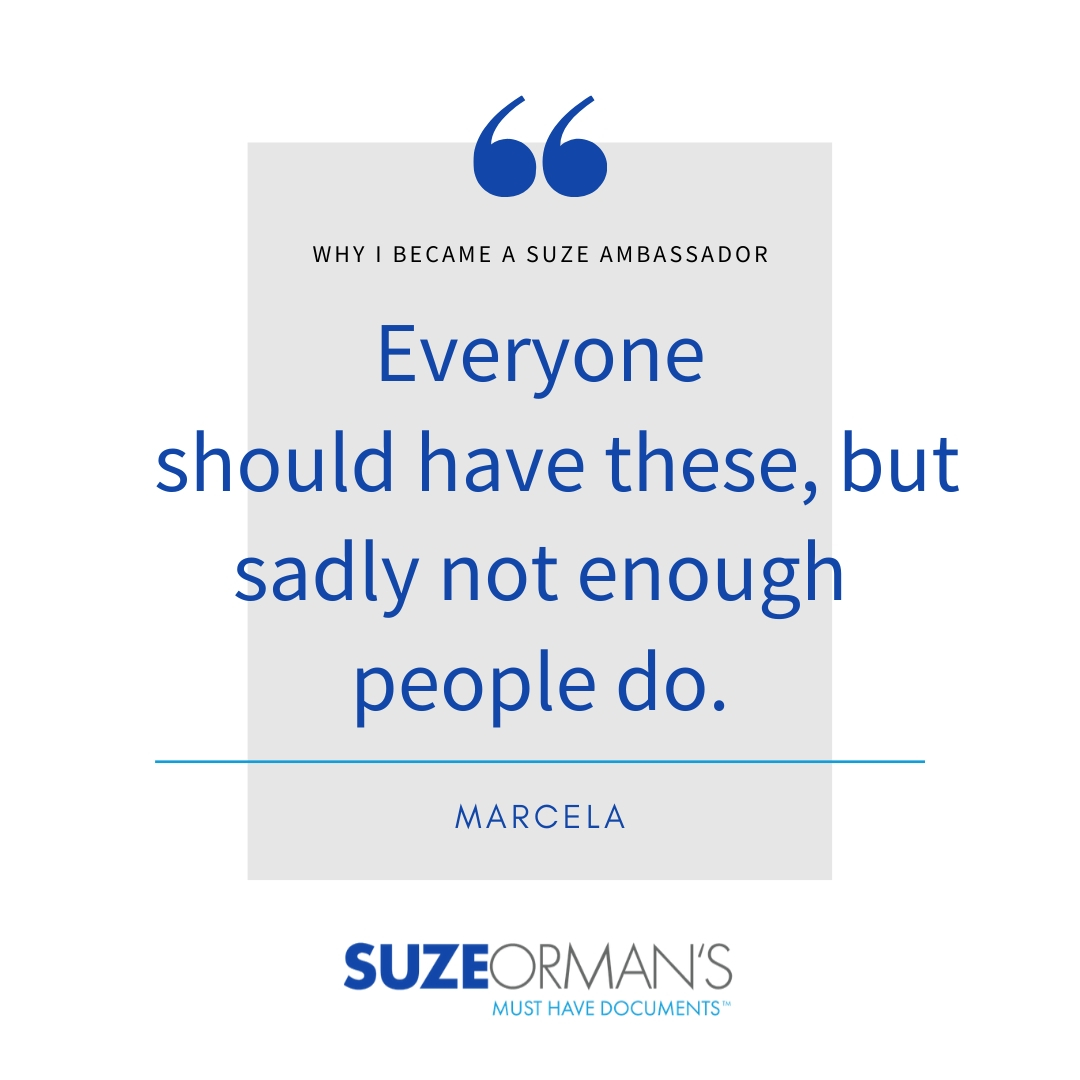 Marcela | Why I Became a Suze Ambassador