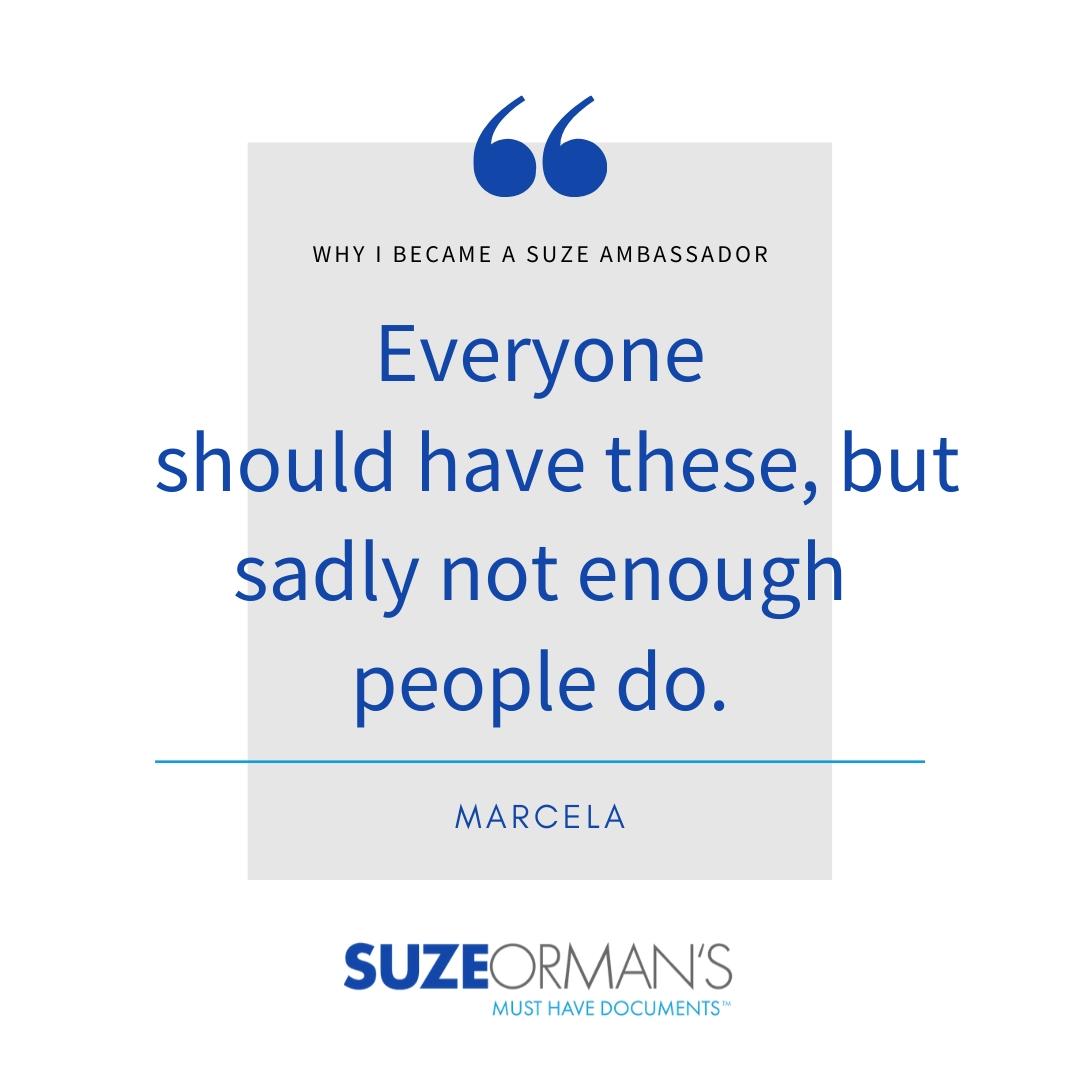 Marcela | Why I Became a Suze Ambassador