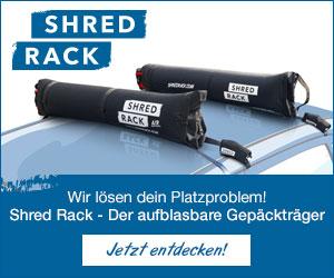 ShredRack aufblasbarer Dachgepäckträger